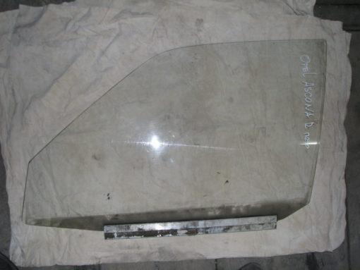 стекло передней правой двери opel ascona ( опель аскона ) 87г.