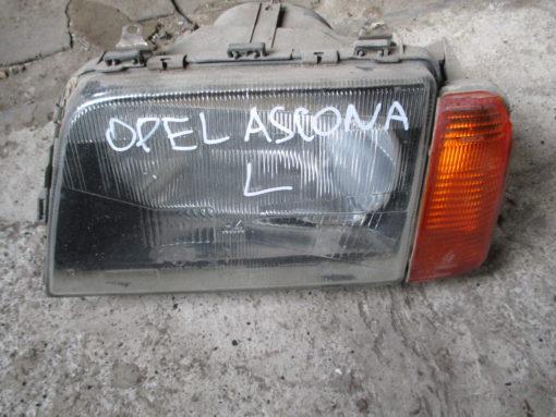 фара левая opel ascona ( опель аскона ) 85г BOSH ( оригинал ).