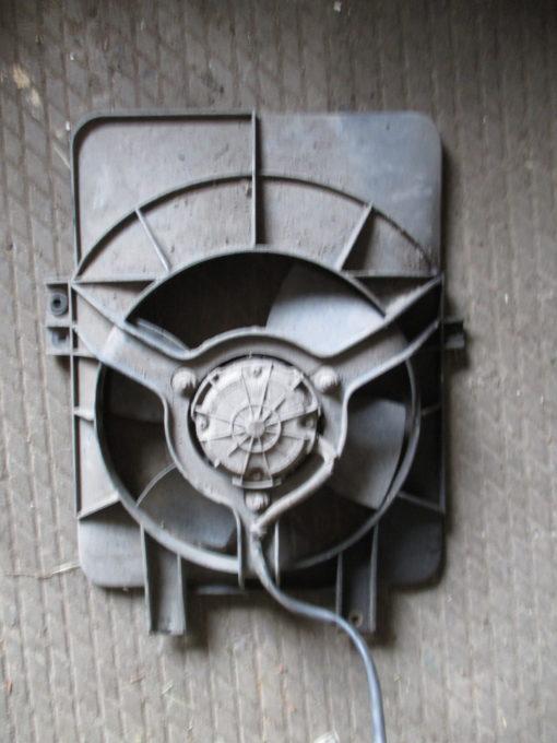 вентилятор радиатора охлаждения, диффузор ваз 2110, 2111, 2112