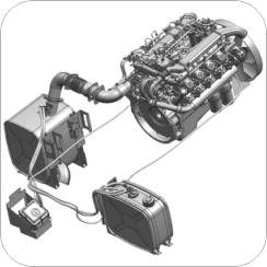 Топливно-воздушная система