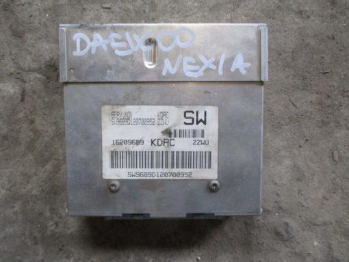 блок управления двигателем ( эбу, мозги, контроллер ) daewoo nexia ( дэу нексия )