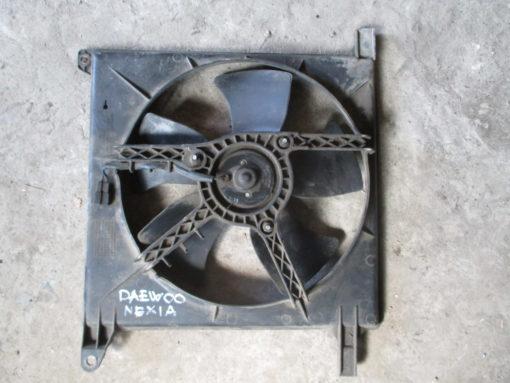 вентилятор, диффузор  радиатора охлаждения daewoo nexia ( дэу нексия )