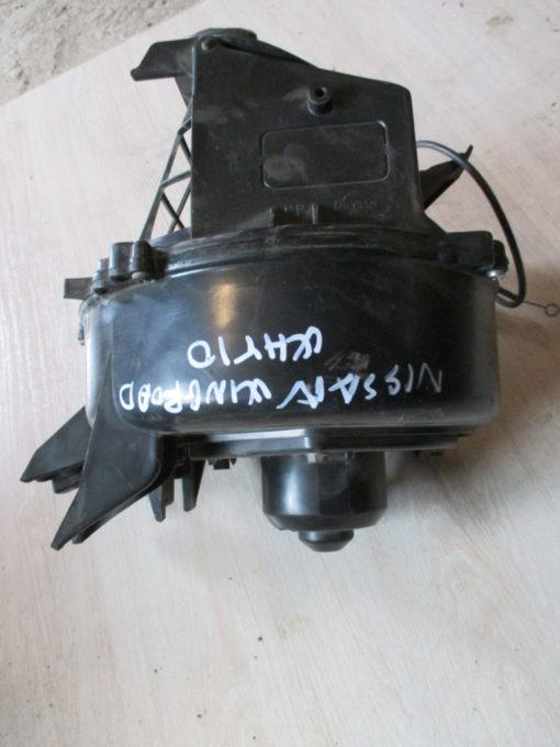 вентилятор отопителя в корпусе nissan wingroad why10 ( ниссан вингроад ) 96г