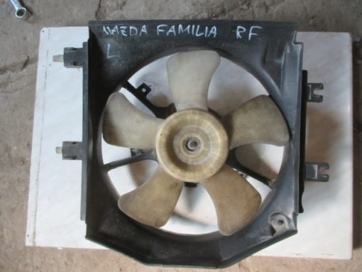 вентилятор, мотор, диффузор охлаждения левый mazda familia, 323 bjep rf ( мазда фамилия ) 99г. дизель.