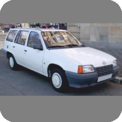 OPEL KADETT 1982-1990